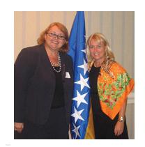 Ambassador of Bosnia Herzegovina Dr. Bisera Turkovic